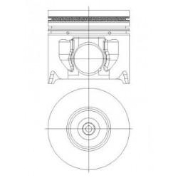 Piston + Segman 89,9mm STD Çap TRANSİT V347 - 2.4 TDCI / 115-143 PS