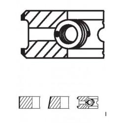 Segman 80,51mm Çap - 0,50 - ESCORT(VAN) - FİESTA(VAN) - ORİON DIESEL / 54 PS